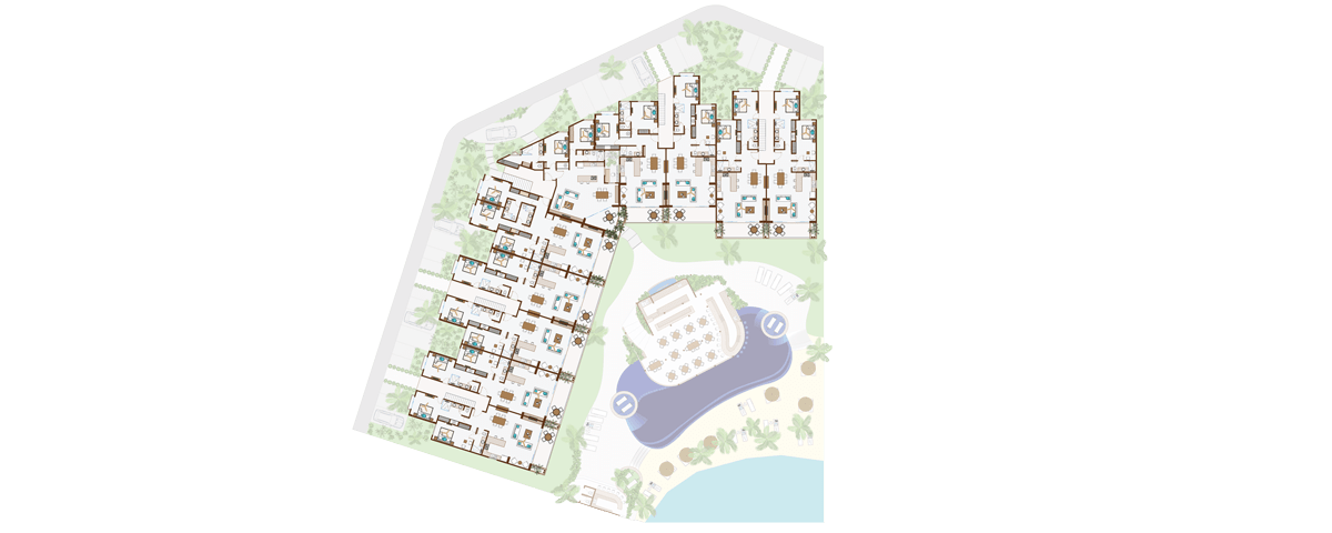 KASA Residences Riviera Maya  - Segundo Piso
