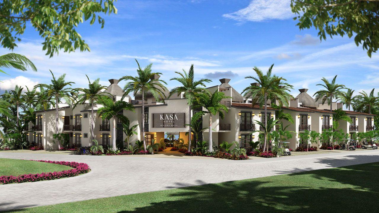 KASA Residences Riviera Maya - Entrada
