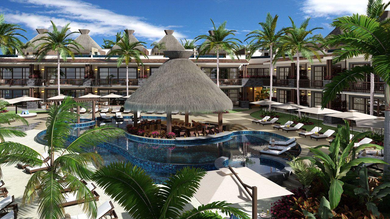 KASA Residences Riviera Maya - Hermosa Vista de la Piscina