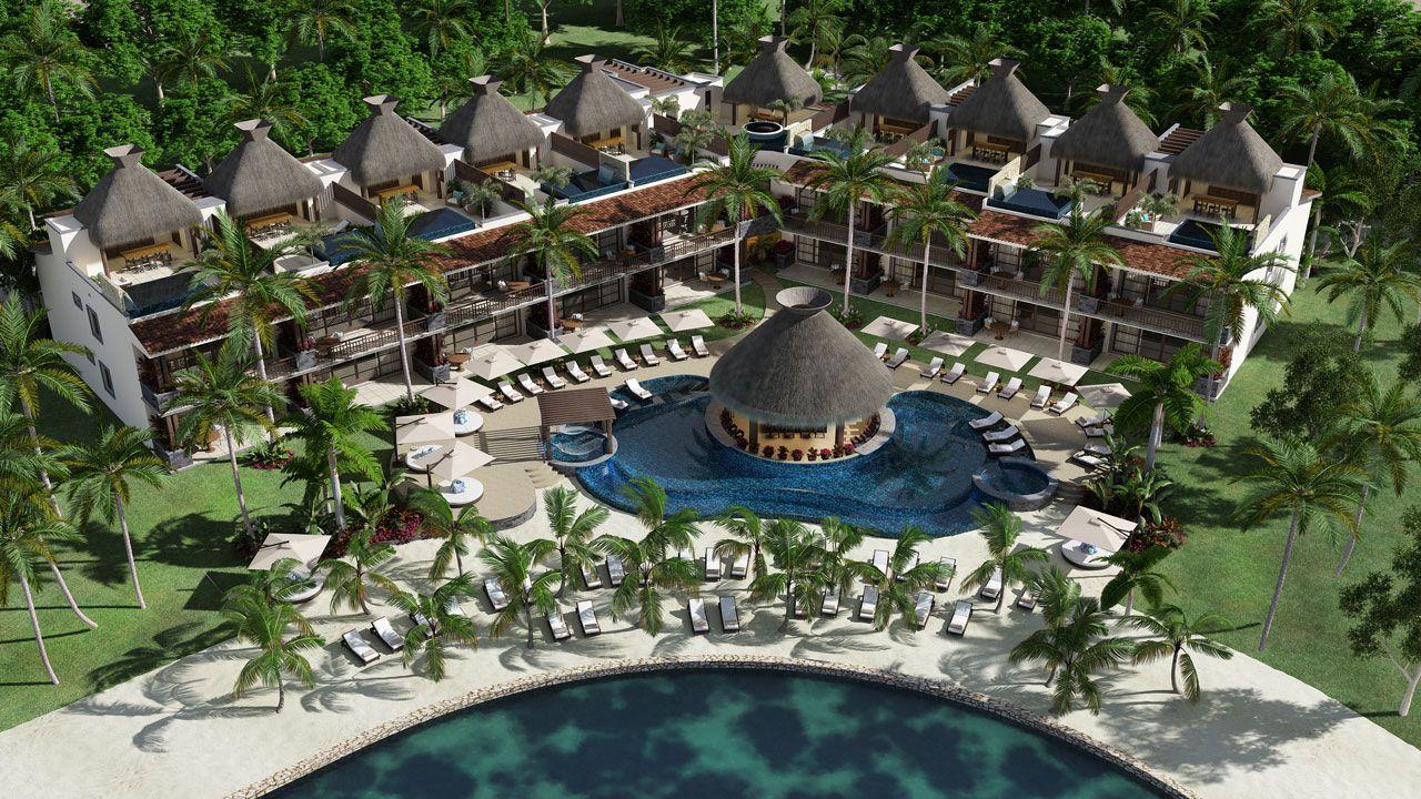 KASA Residences Riviera Maya - Vista Aérea de la Piscina