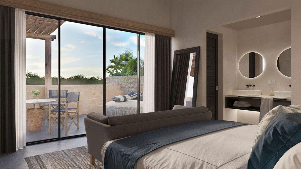 KASA Residences Riviera Maya - Espaciosa Habitación de Lujo con Terraza